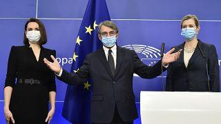 Премия Европарламента имени Сахарова у Тихановской