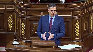Pedro Sánchez en el Parlamento