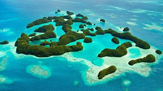 Palau is a nation of islands in Micronesia.