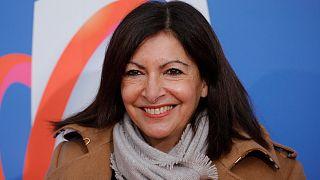 رئيسة بلدية باريس آن هيدالغو. 2020/12/14