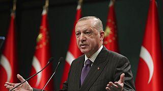 Recep Tayyip Erdogan török elnök