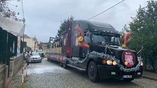 Πορτογαλία: Το φορτηγό των Χριστουγέννων