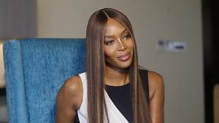 Naomi Campbell, marraine de la mode africaine