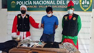 """""""Хо-хо-хо, вы арестованы!"""": полиция Перу провела спецоперацию в рождественских костюмах"""