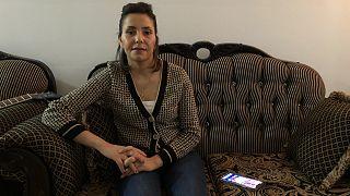 ليلى البوعزيزي، شقيقة الشاب الذي أضرم النار في جسده محمد البوعزيزي في تونس في 2011