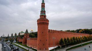 Здание Кремля в Москве.