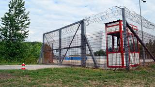 In this Tuesday, May 7, 2019 file photo the transit zone for asylum seekers is pictured in Roszke, Hungary.