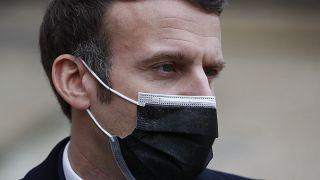 Emmanuel Macron à l'Elysée à Paris, le 16 décembre 2020
