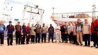 I 18 pescatori rilasciati dopo oltre 100 giorni di detenzione in Libia