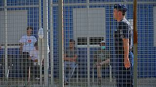 یک اردوگاه پناهجویان در مرز مجارستان و صربستان