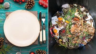 How much food do we waste at Christmas?