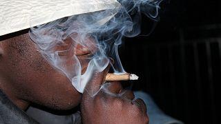 تدخين الماريجوانا