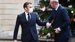 Emmanuel Macron und Charles Michel vor wenigen Tagen in Paris
