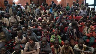 Retour de 344 lycéens enlevés par Boko Haram