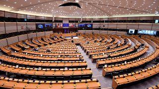 پارلمان اروپا در بروکسل بلژیک