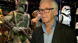 Jeremy Bulloch at the Star Wars Identities exhibition in London on July 26, 2017.