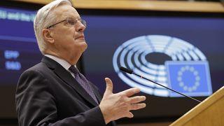 كبير الدبلوماسيين الأوروبيين ووزير البئية الفرنسي سابقاً، ميشال بارنييه