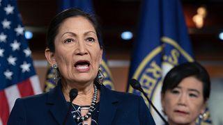 Deb Haaland, Új-Mexikó demokrata képviselője az amerikai törvényhozás alsó házában