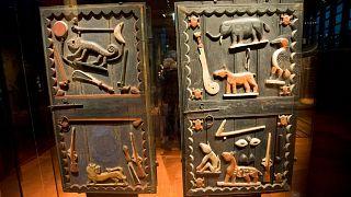 یکی از آثار هنری متعلق به آفریقا در موزه «برانلی-ژاک شیراک» در پاریس