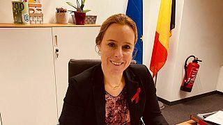 Belçika'da bütçe ve tüketicinin korunmasından sorumlu Devlet Bakanı Eva De Bleeker