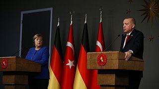 Merkel Erdoğan (Arşiv)
