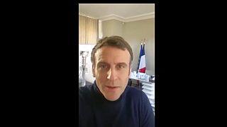 Emmanuel Macron am 18.12.2020