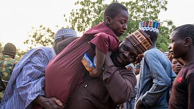 Abducted Nigerian School Boys Reunited with Parents