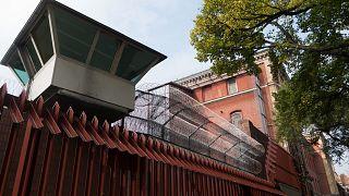Berlin Hapishanesi'nden bir kare.