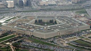 """Archives : le siège du """"Pentagone"""", ministère américain de la Défense, à Washington D.C., le 27/03/2008"""