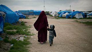 اردوگاه خانوادههای داعشی در شمال سوریه