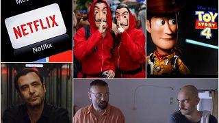 2020'de internet film platformlarında en çok izlenen yapımlardan bazı kesitler