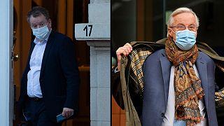 David Frost voltou hoje a reunir-se com Michel Barnier