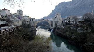 Bosna Hersek'in Mostar kenti