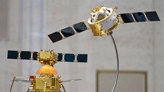 Çin'e ait Chang'e 5 uzay aracının prototipi