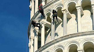 Pisa aproveita o confinamento para formar restauradores de monumentos