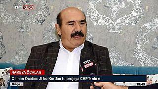 TRT Kürdi'ye çıkan Osman Öcalan