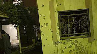 Bağdat'ta Yeşil Bölge'de bulunan ABD Büyükelçiliğine füze saldırısı gerçekleştirildi.