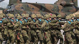 Japon askerleri (arşiv)