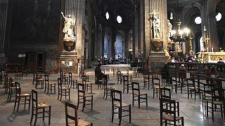 Archive : à l'église Saint-Sulpice (Paris), le 29/11/2020