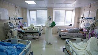 Отделение интенсивной терапии для больных Covid-19 во Владивостоке
