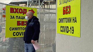 Bulgaria awaits coronavirus vaccine as new cases rise.