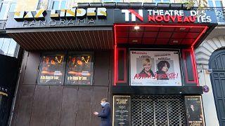 Cinéma MaxLinder and the Théâtre des nouveautés, both closed