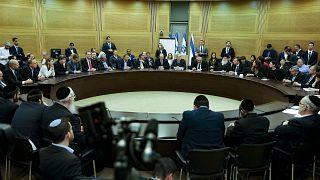 الكنيست (البرلمان) الإسرائيلي، 4 مارس 2020.