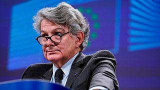 تيري بروتون المفوض الأوروبي للسوق الداخلية