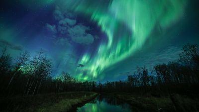 """Lights in the Land of Living Skies"", Saskatchewan, Canada."