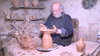 صناعة جرار الفخار - سوريا