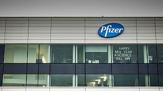 A Pfizer gyára a belgiumi Puursban
