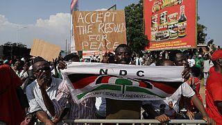 La manifestation pacifique du NDC s'embrase à Kumasi