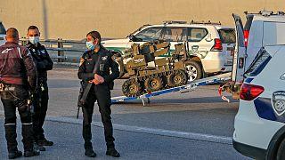 صورة أرشيفية للشرطة الإسرائيلية