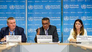 سه تن از مدیران ارشد سازمان جهانی بهداشت
